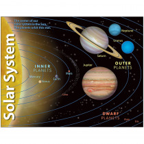 T-38057 - Chart Solar System 17 X 22 Gr 2-8 in Science