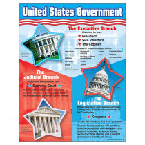 T-38065 - Chart United States Government in Social Studies