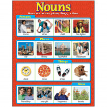 T-38130 - Chart Nouns 17 X 22 in Language Arts