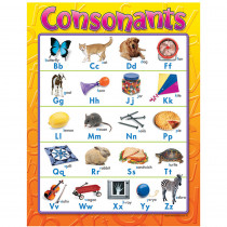 T-38158 - Chart Consonants Gr K-3 in Language Arts