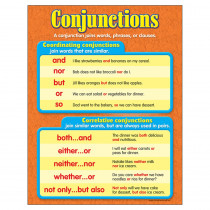 T-38160 - Chart Conjunctions Gr 3-6 in Language Arts