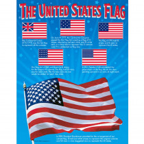 T-38199 - Chart The United States Flag in Social Studies