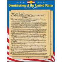 T-38253 - Learning Chart U S Constitution in Social Studies
