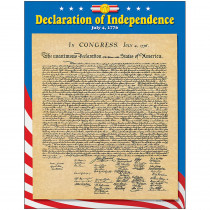 T-38254 - Chart Declaration Of Independence in Social Studies