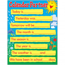 T-38272 - Learning Chart Calendar Companion in Miscellaneous