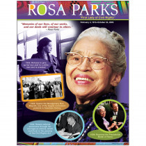 T-38304 - Rosa Parks Learning Chart in Social Studies