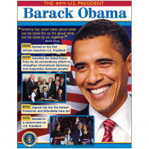 T-38307 - President Barack Obama Learning Chart in Social Studies