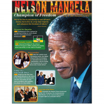 T-38342 - Nelson Mandela Learning Chart in Social Studies
