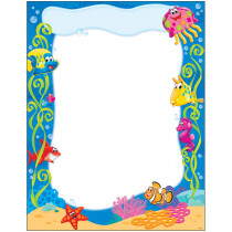 T-38355 - Sea Buddies Learning Chart in Classroom Theme