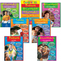 T-38907 - Chart Pk Character Education 7/Pk 17 X 22 Gr 3-8 in Social Studies