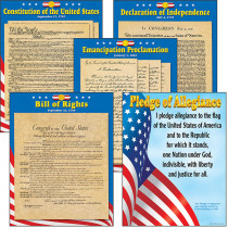 T-38946 - Us Documents Charts Combo Pack in Social Studies
