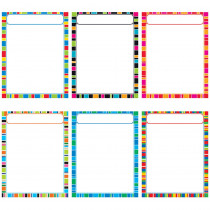 T-38985 - Stripe-Tacular Learning Charts in Classroom Theme