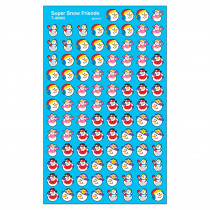 T-46065 - Supershapes Stickers Snow Friends in Holiday/seasonal