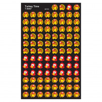 T-46067 - Supershapes Stickers Turkey Time in Holiday/seasonal