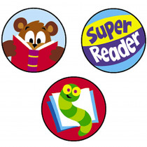 T-46151 - Superspots Stickers Reading Celebra in Language Arts