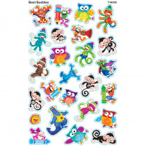 T-46300 - Best Buddies Supershapes Stickers Large in Stickers