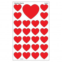 T-46313 - Supershapes Stickers Valentine in Holiday/seasonal