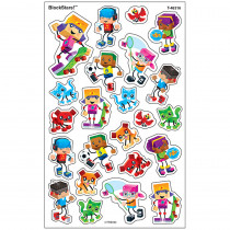 T-46316 - Blockstars Supershapes Stickers in Stickers