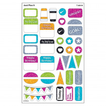 T-46318 - Just Plan It Supershapes Stickers Large Color Harmony in Stickers