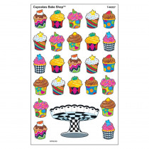 T-46327 - Cupcakes Bake Shop Supershapes Stickers Large in Stickers