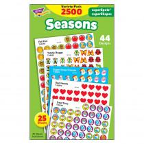 T-46914 - Stickers Seasons Colossal Variety Pk in Holiday/seasonal