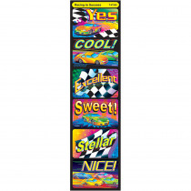 T-47306 - Applause Stickers Racing To Success in Motivational