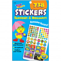 T-5006 - Sticker Pad Seasons & Holidays in Holiday/seasonal