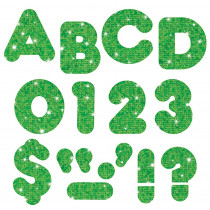 T-508 - Ready Letters 2 In Casual Green Sparkle in Letters