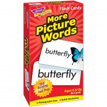 T-53005 - Flash Cards More Picture 96/Box Words in Word Skills