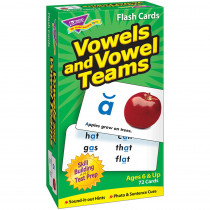 T-53008 - Flash Cards Vowels & Vowel Teams 72/Box in Phonics