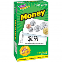 T-53016 - Flash Cards Money 96/Box in Flash Cards