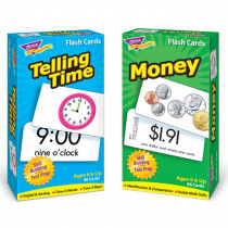 T-53905 - Time And Money Flash Cards Asst Skill Drill in Flash Cards