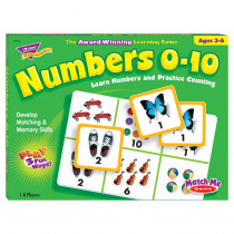 T-58102 - Match Me Game Numbers Ages 3 & Up 1-8 Players in Math