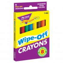 T-593 - Wipe-Off Crayons Regular 8/Pk in Crayons