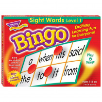 T-6064 - Bingo Sight Words Ages 5 & Up in Bingo