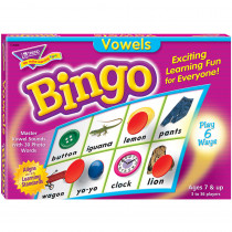 T-6066 - Bingo Vowels Ages 7 & Up in Bingo