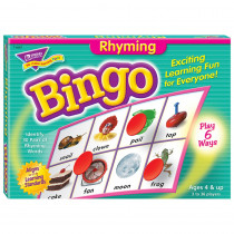 T-6067 - Bingo Rhyming Ages 4 & Up in Bingo