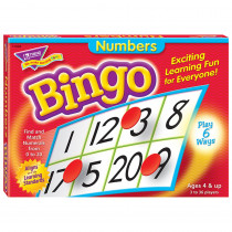 T-6068 - Bingo Numbers Ages 4 & Up in Bingo