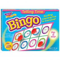 T-6072 - Bingo Telling Time Ages 6 & Up in Bingo