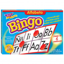 T-6073 - Bingo De Alfabeto Old T088 in Foreign Language