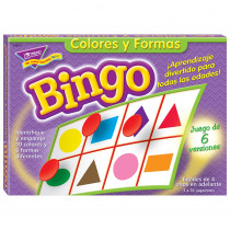 T-6074 - Bingo De Colores Y Figuras Old T086 in Foreign Language