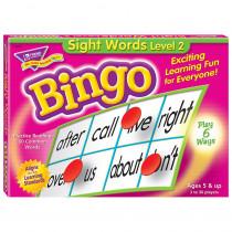 T-6076 - Sight Words Level 2 Bingo Game in Bingo