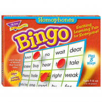 T-6132 - Bingo Homonyms Ages 9 & Up in Bingo