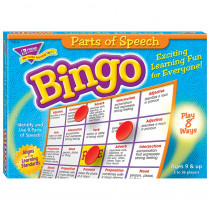 T-6134 - Bingo Parts Of Speech Ages 8 & Up in Bingo