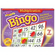 T-6135 - Bingo Multiplication Ages 8 & Up in Bingo