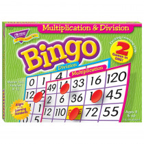 T-6141 - Multiplication & Division Bingo Game in Bingo