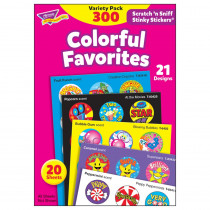 T-6481 - Stinky Stickers Colorful Favorites Acid-Free Variety 300/Pk in Stickers