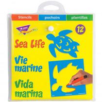 T-65006 - Stencils Sea Life in Stencils