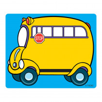 T-68001 - Name Tags School Bus 36/Pk in Name Tags