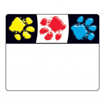 T-68081 - Paw Prints Name Tags in Name Tags